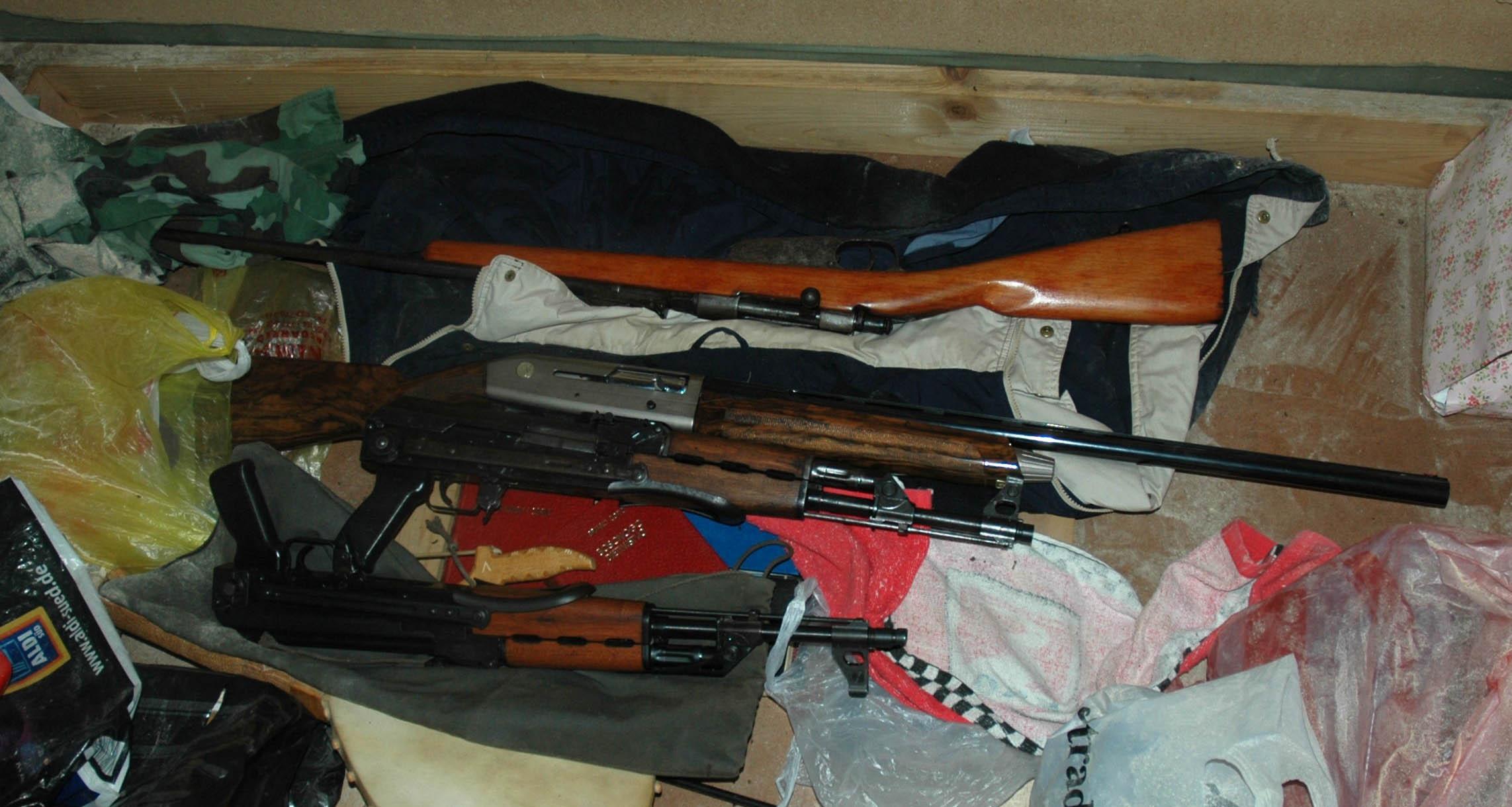 Prijepolje: otkrivena veća količina ilegalnog oružja