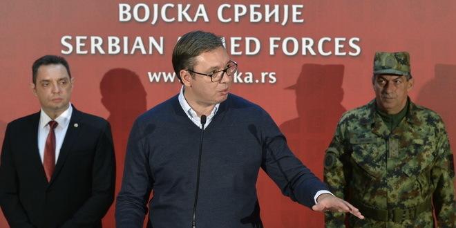 Aleksandar Vučić posetio Generalštab i najavio povećanu brigu o VS