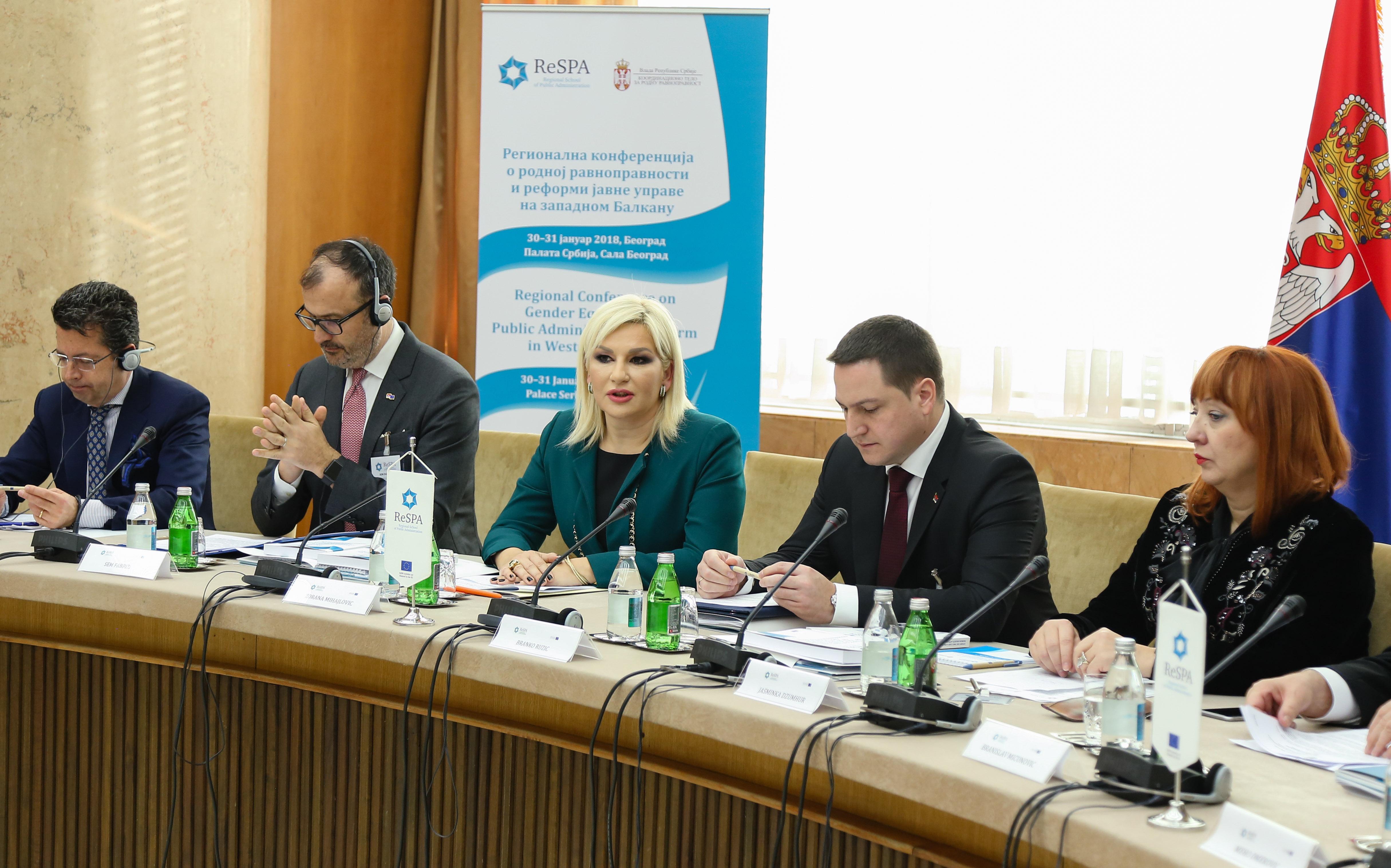 Beograd: Regionalna konferencija posvećena rodnoj ravnopravnosti