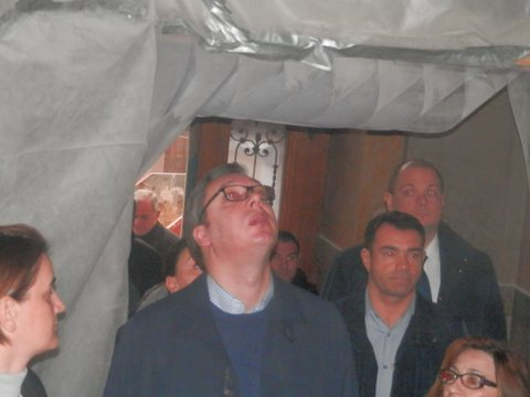 Vučić i Brnabićeva obišli Narodni muzej: vrata se otvaraju na Vidovdan