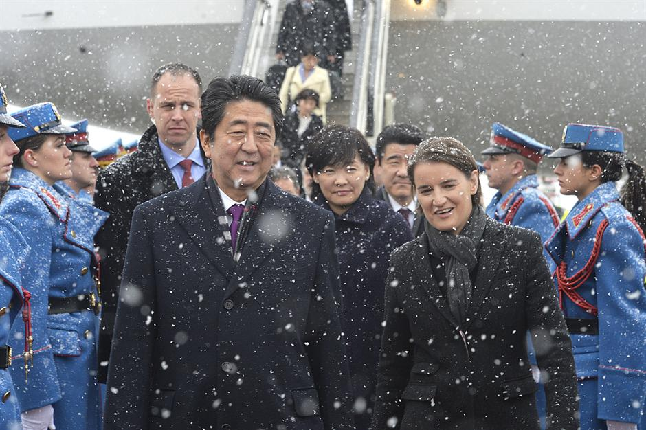 Premijer Japana Šinzo Abe gost Srbije