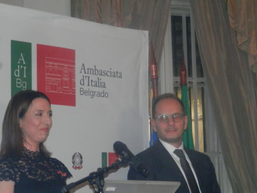 """Svečanost u Ambasadi Italije: Aji Jung uručen """"Orden italijanske zvezde"""""""