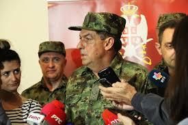 General Diković: upozoreni smo od KFOR-a na moguće nemire