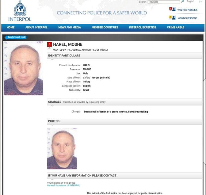 Na Kipru uhapšen Izraelac – trgovac ljudskim oranima na Kosovu!