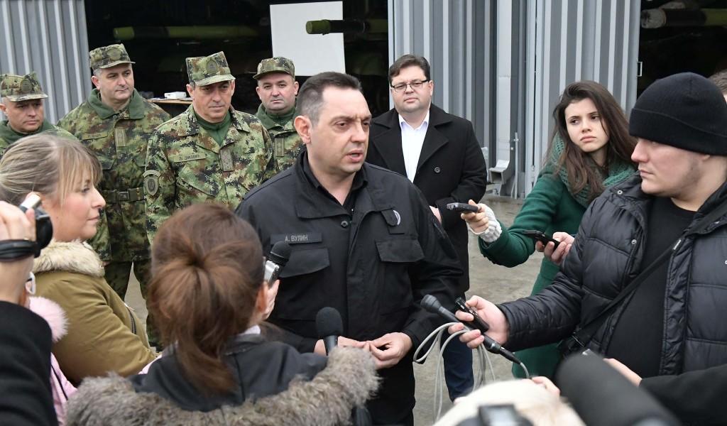 Reagovanje Vulina: Odluka da Diković ne dobije američku vizu loša za vojno-vojne odnose