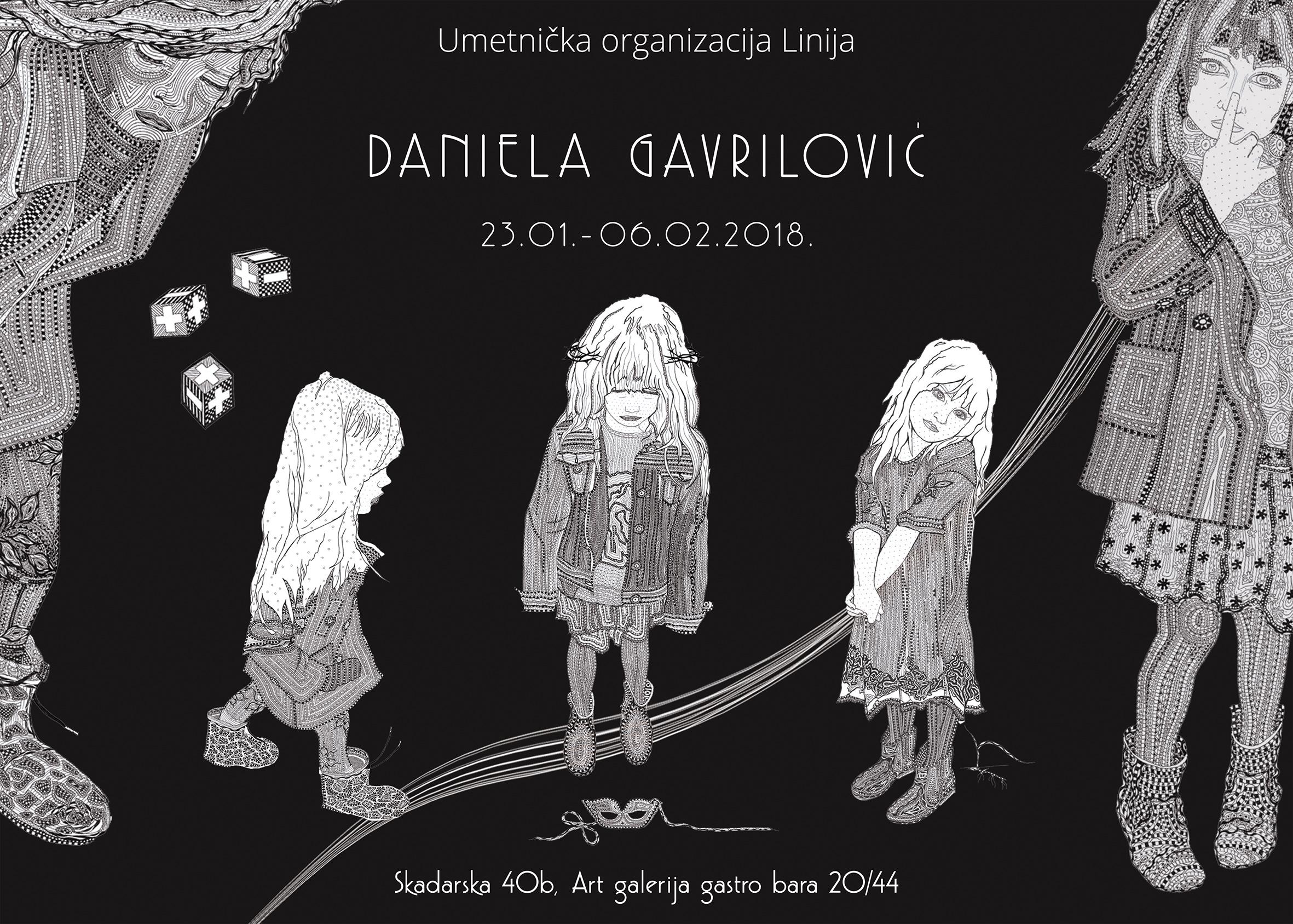 Art galerija Gastro bara: Izlaže Daniela Gavrilović