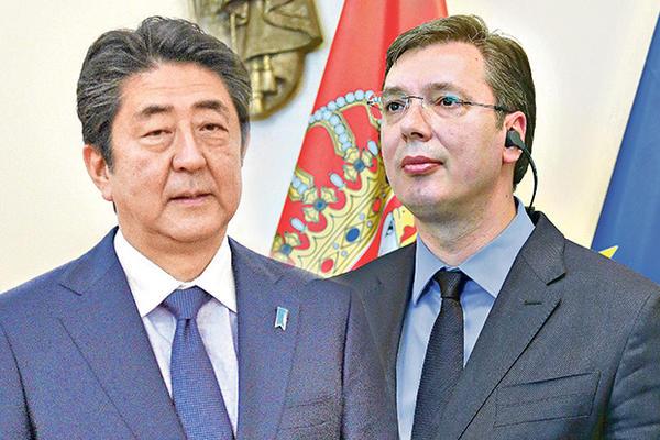 Poseta premijera Japana Srbiji: konferencija za medije bez pitanja novinara!