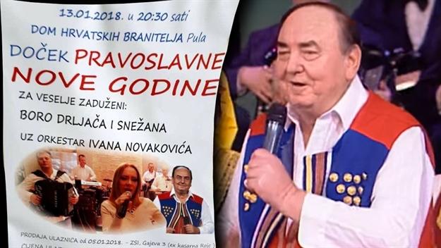 #Pula: u Domu hrvatskih branitelja – doček Pravoslavne nove godine