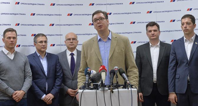 Predsedništvo SNS odlučilo: beogradski – bez parlamentarnih izbora!