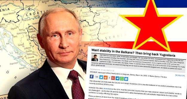 Russia Today: rešenje balkanske krize je u obnovi Jugoslavije!