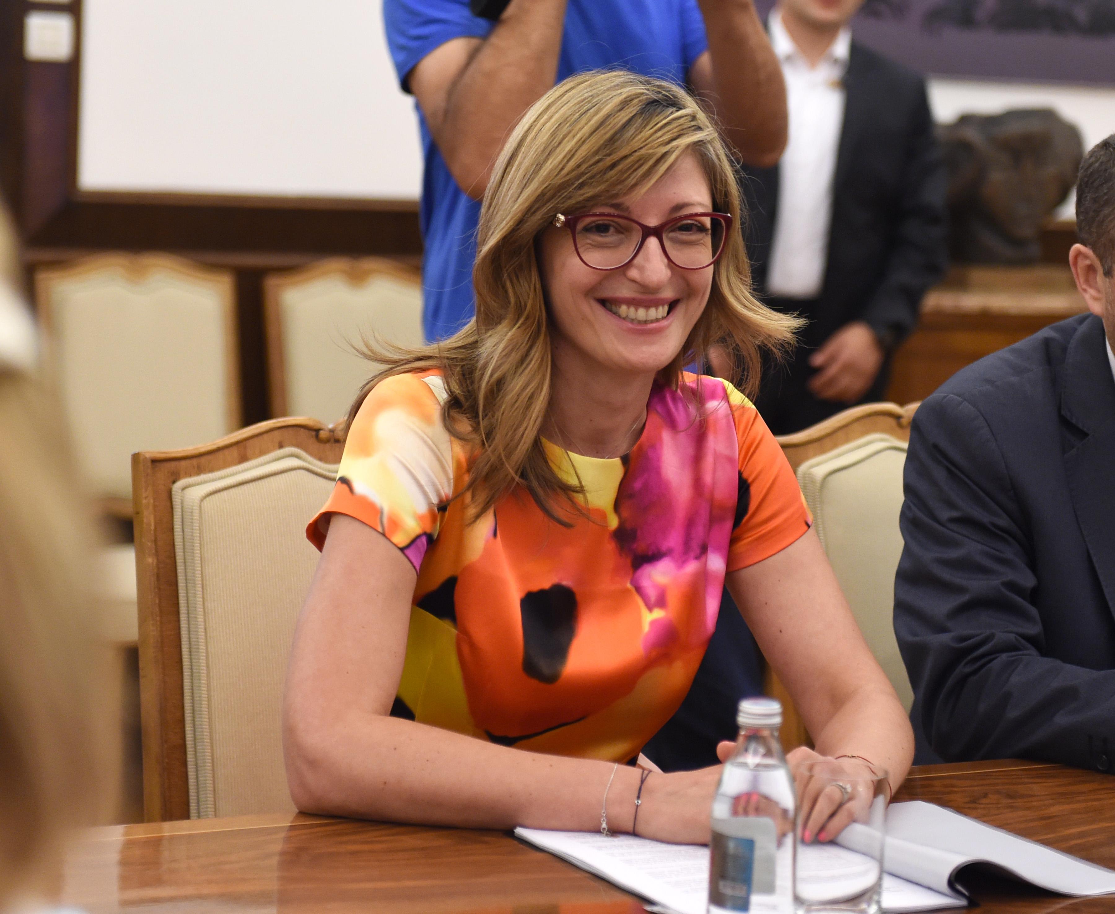 Ekatarina Zaharijeva: Očekujem dve zemlje sa Zapadnog Balkana u EU do 2025. godine