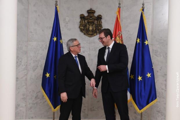JUNKER I HAN U BEORADU// Srbija pred značajnim reformama!