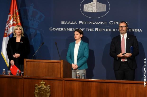 Konferencija za medije u Vladi: Srbija je u Strategiji EK prepoznata kao lider