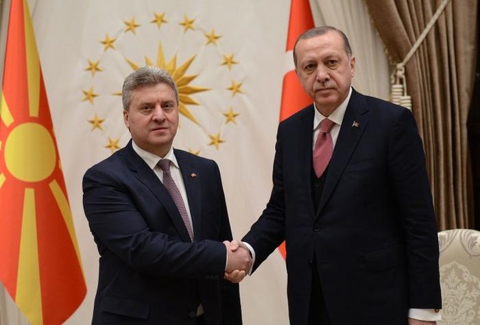 Makedonski predsednik Ivanov kod Erdogana: Turska neće menjati svoj stav o imenu Makedonije