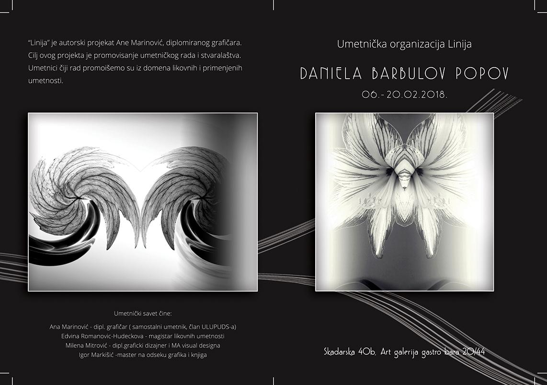 Art galerija Gastro bara: Izlaže Daniela Barbulov Popov