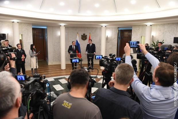 Lavrov u Beoradu: Neutralnosti Srbije najvažniji faktor stabilnosti na Balkanu