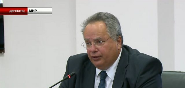 Zbog pregovora oko imena Makedonije -prete smrću miniustru Nikosu Kocijasu