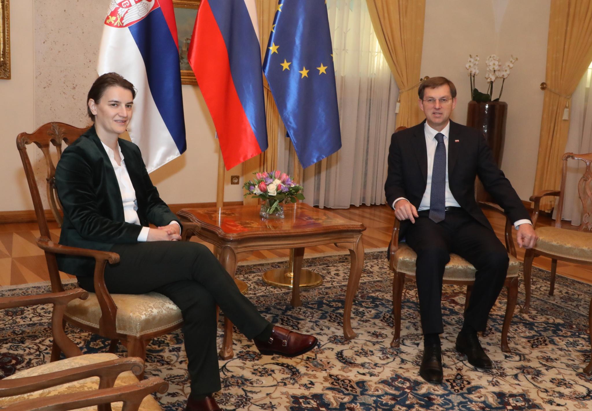 Zajednička sednica vlada Srbije i Slovenije
