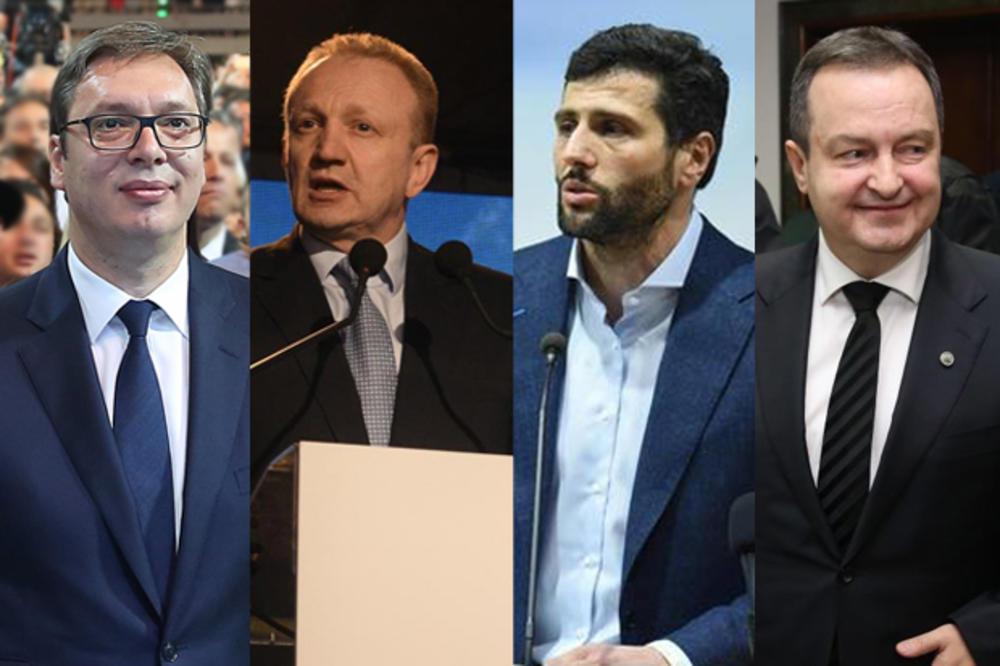 Beogradski izbori: Proslava pobede SNS uz šapanjac!