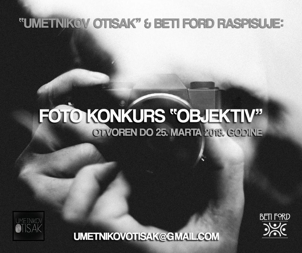 """Foto konkurs za učešće na kolektivnoj izložbi u Art galery – Caffe """"Beti Ford"""""""