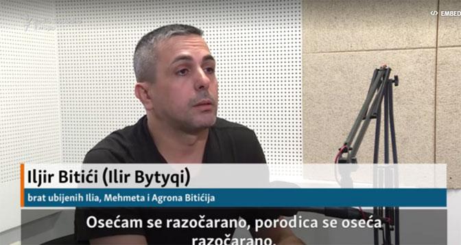 Ilir Bitići: Vučić imenovao Gurija kao odgovornog za ubistvo moje braće