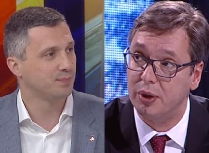 Reagovanje Boška Obradovića na lažni poziv TV Hepi za njegov duel sa Vučićem