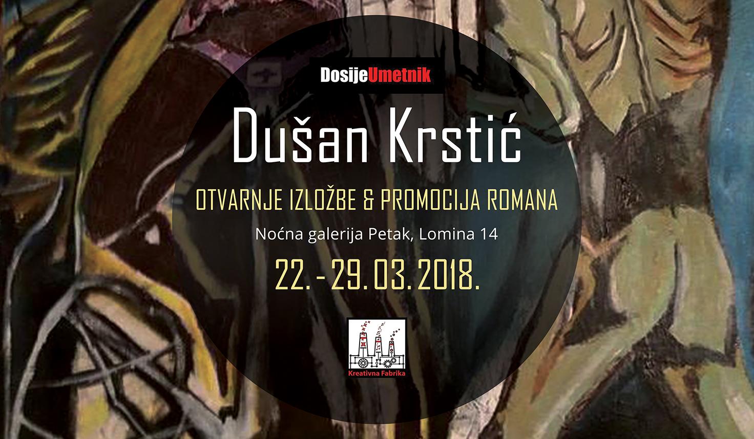 Galerija Petak: izlaže Dušan Krstić