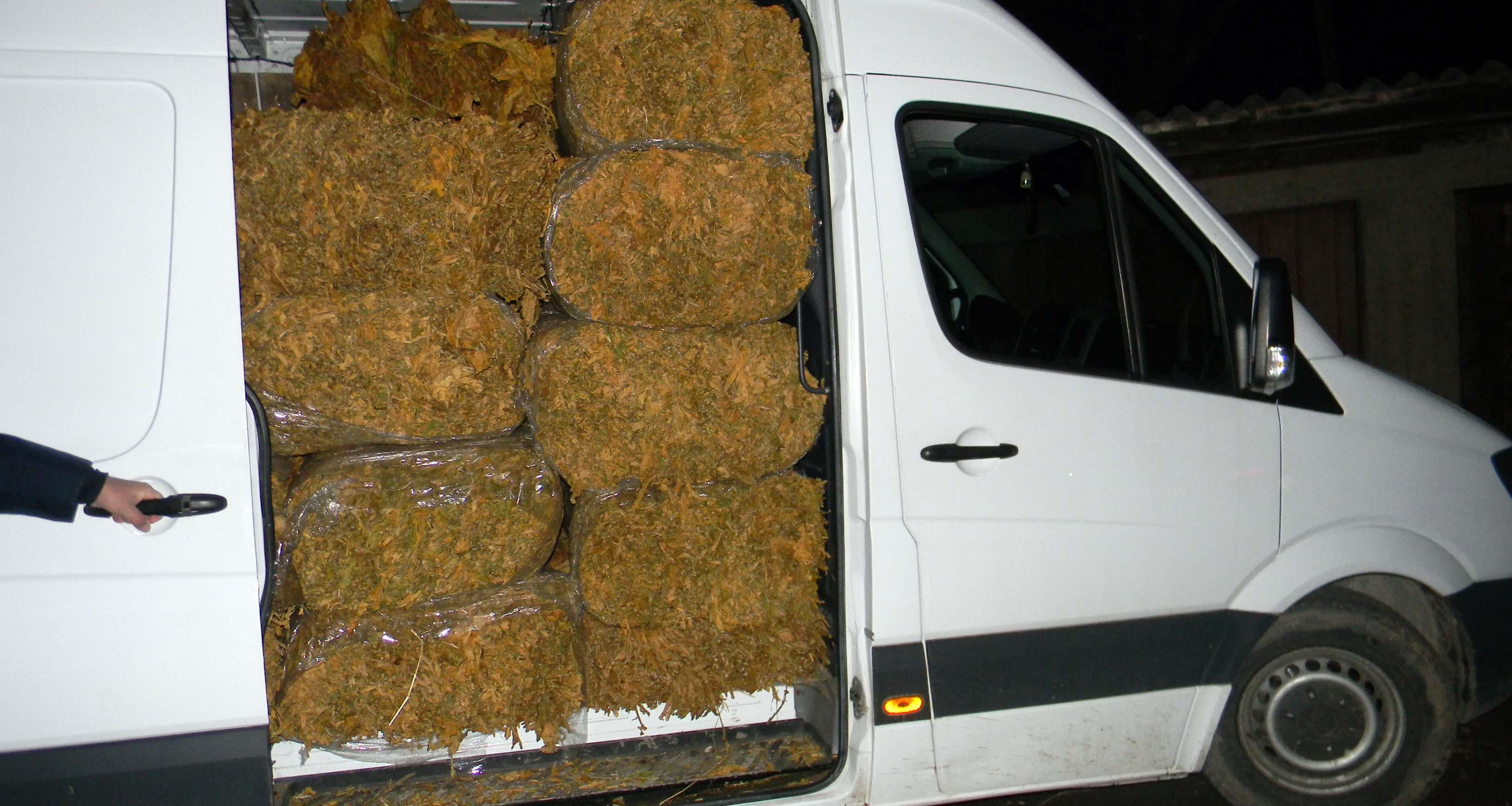 Šabac: policija zaplenila tonu i 730 kilograma duvana