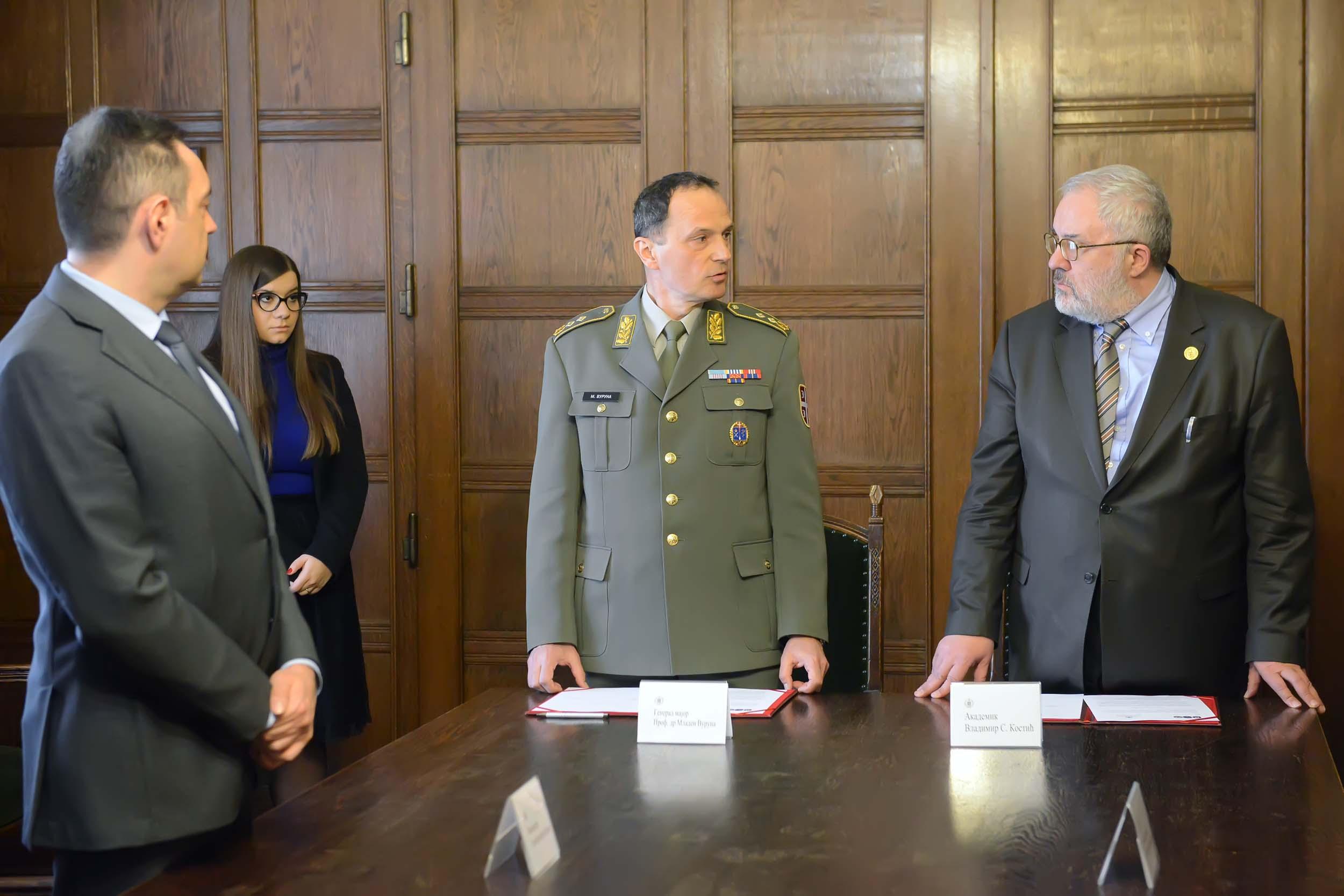 Potpisan protokol o saradnju SANU i Vojske Srbije!
