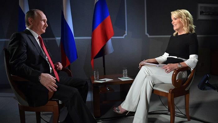 Intervju Putina za američku NBC TV