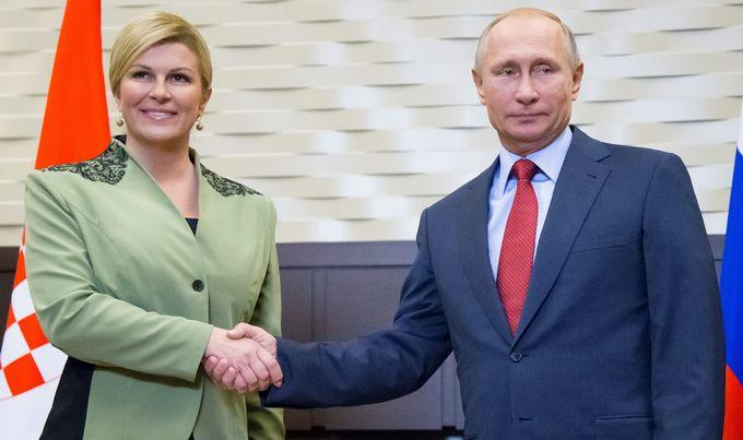Kremlj: Kolinda Grabar Kitarović čestitala Putinu izbornu pobedu