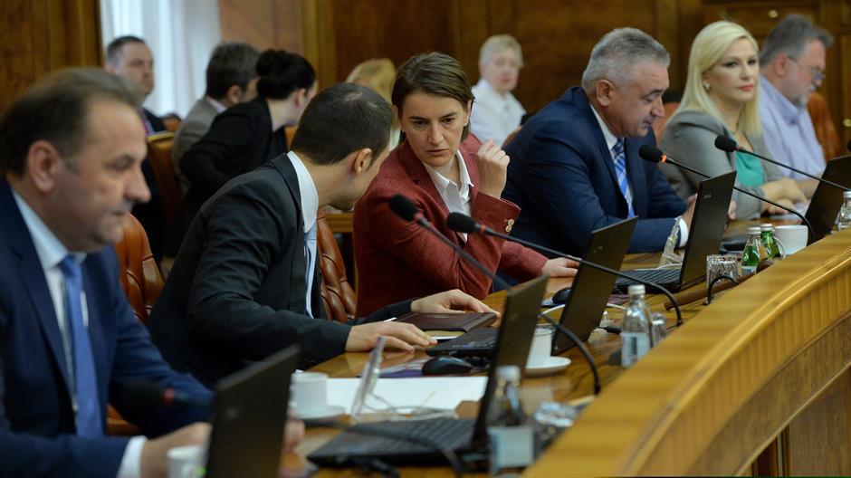 Sednica vlade Srbije: usvojena tri predlog zakona