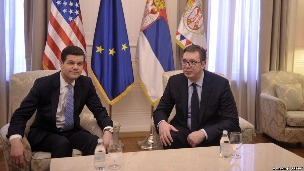 Vučić posle sastanka Mičelom: KFOR je jedina vojska na Kosovu
