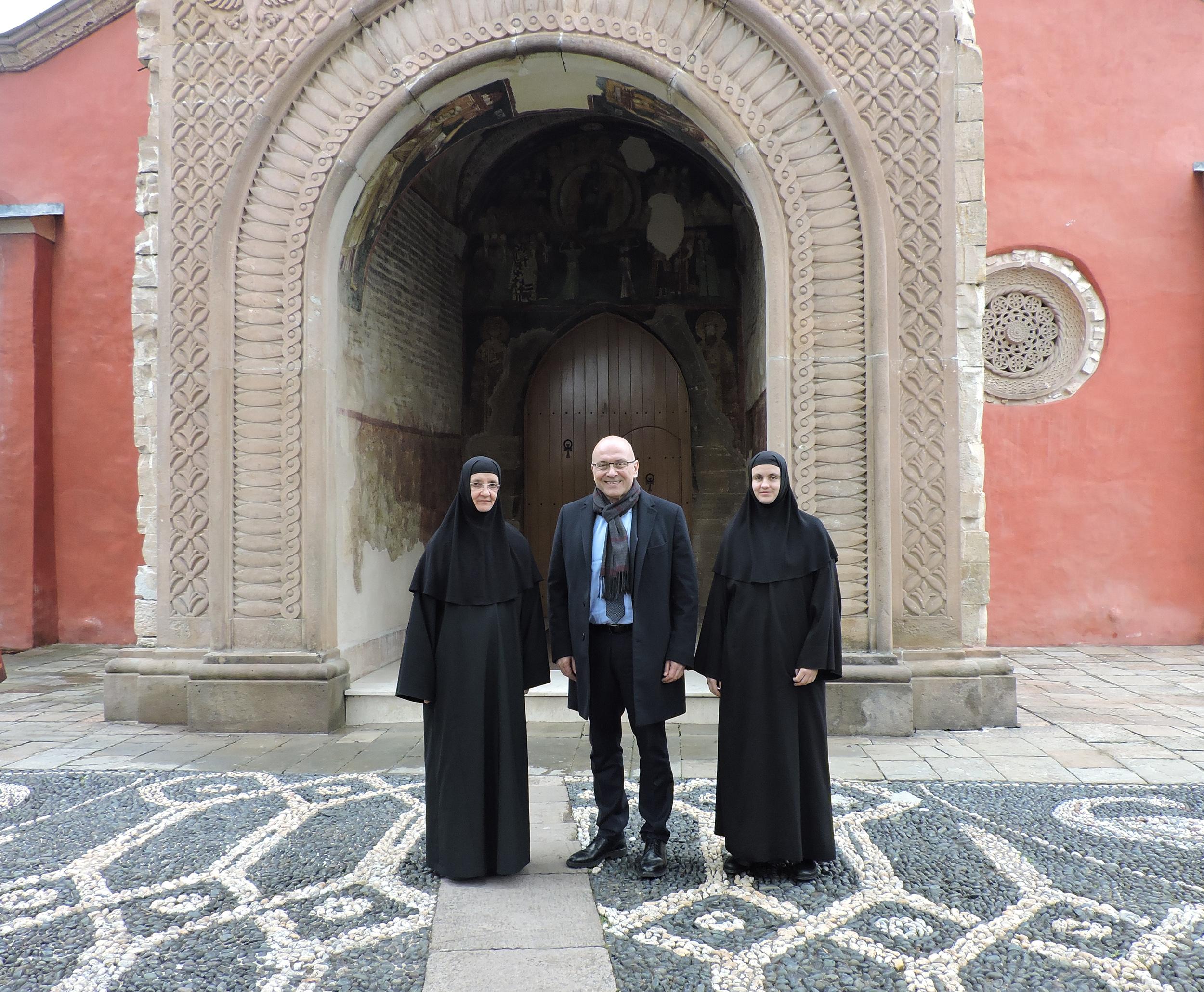 Ministar Vukosavljević obišao manastir Žiču