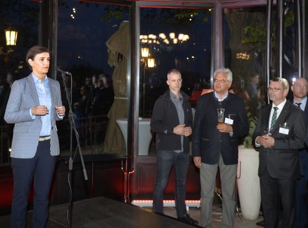 Prijem na Kalemegdanskoj terasi: Privredna saradnja sa Nemačkom u porastu