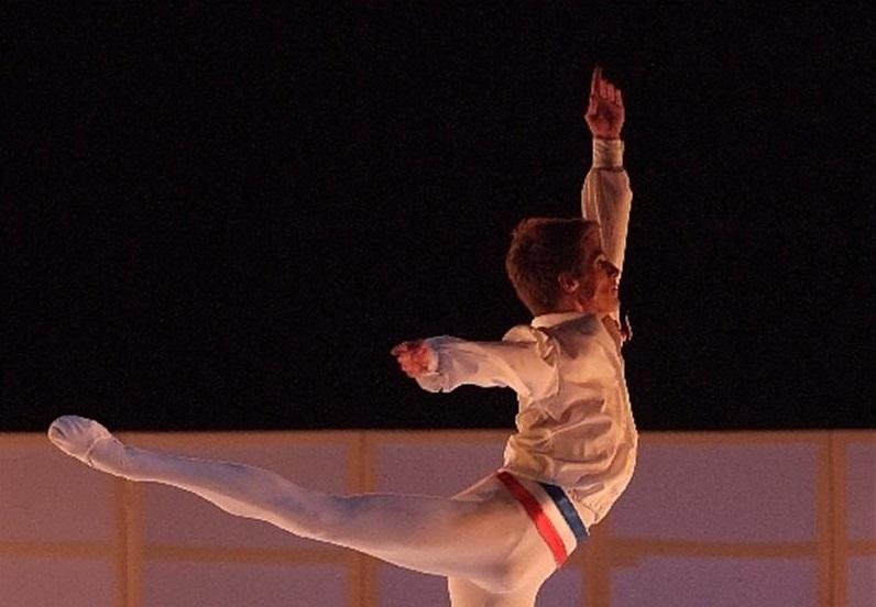 Aleksis Saramit, solista Baleta pariske opere gosti Nacionalne fondacije za umetničku igru