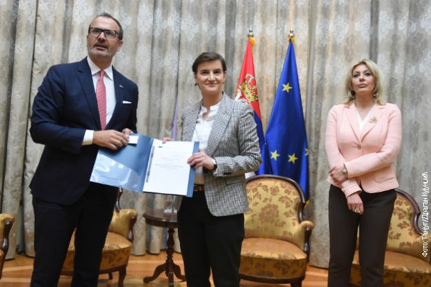 Izvestaj EK o napretku Srbije ka EU