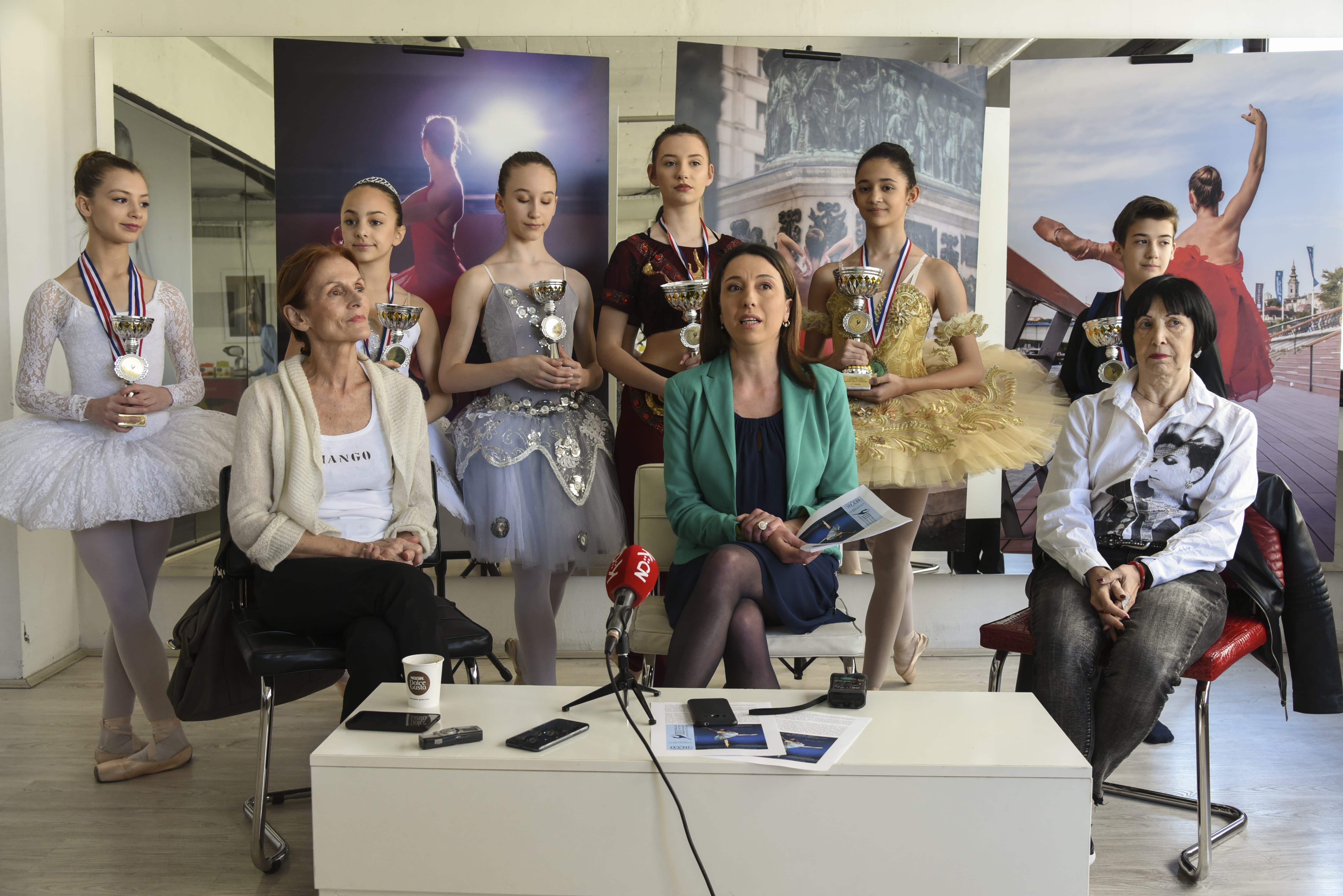 """Atina: """"Pozlatili"""" se učenici Baletske škole Nacionalne fondacije za umetničku igru iz Beograda"""