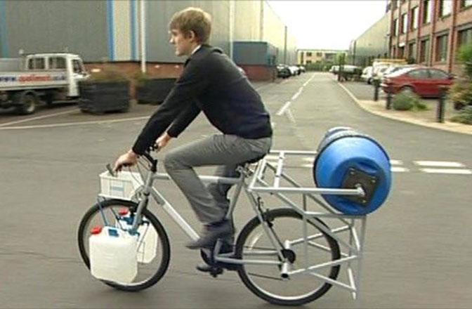 Bicikl – funkcionalna mašina za veš