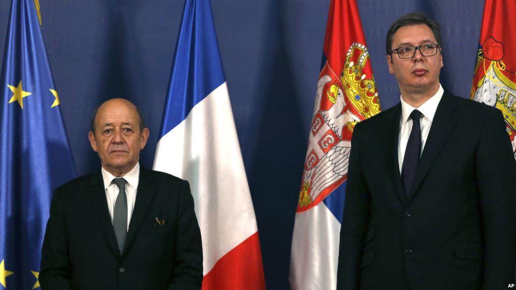 Francuski ministar Žan Iv Le Drijan razgovarao sa Aleksandrom Vučićem