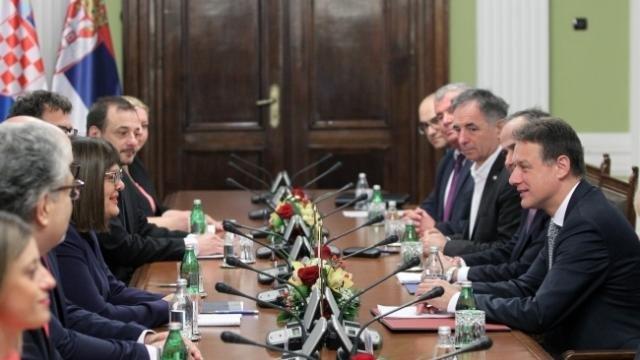 Posle incidenta Vojislava Šešelja: Hrvatska delegacija prekida posetu Srbiji?