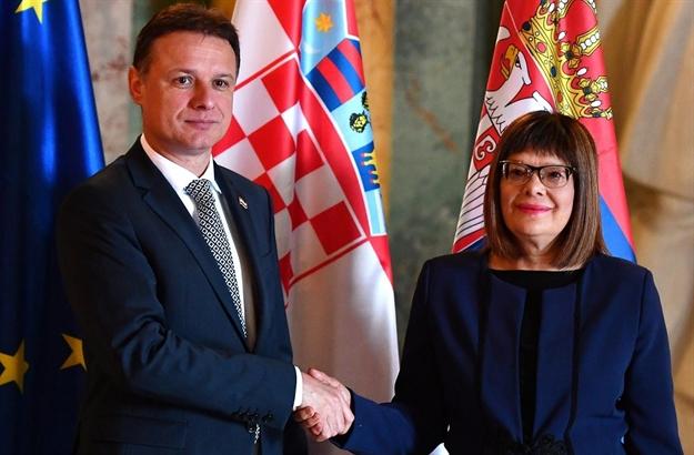 Predsednik Sabora Hrvatske u Beogradu