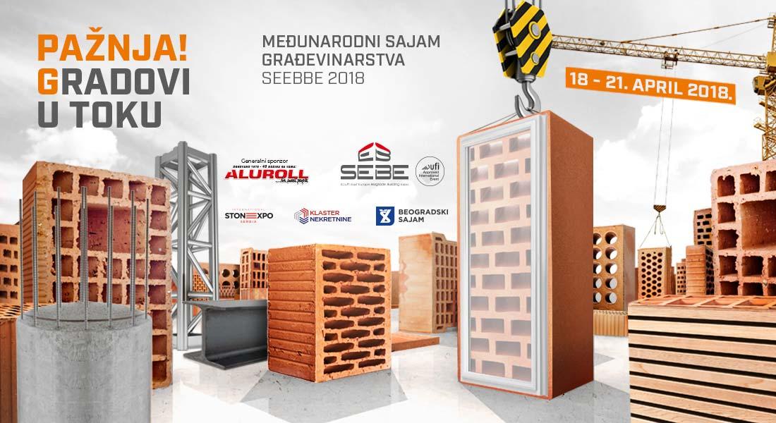 Od 18 aprila – 44. Međunarodni sajam građevinarstva