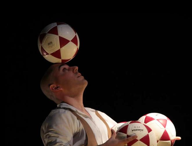 "Beogradski festival igre: balet na otvorenom – nastupa španska trupa""Sky Circus"""