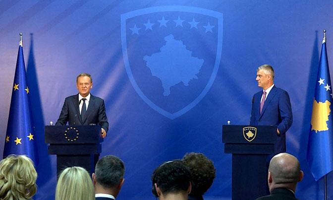Tusk razgovarao sa Tačijem: Normalizacije odnosa Kosova i Srbije uslov napretka ka EU