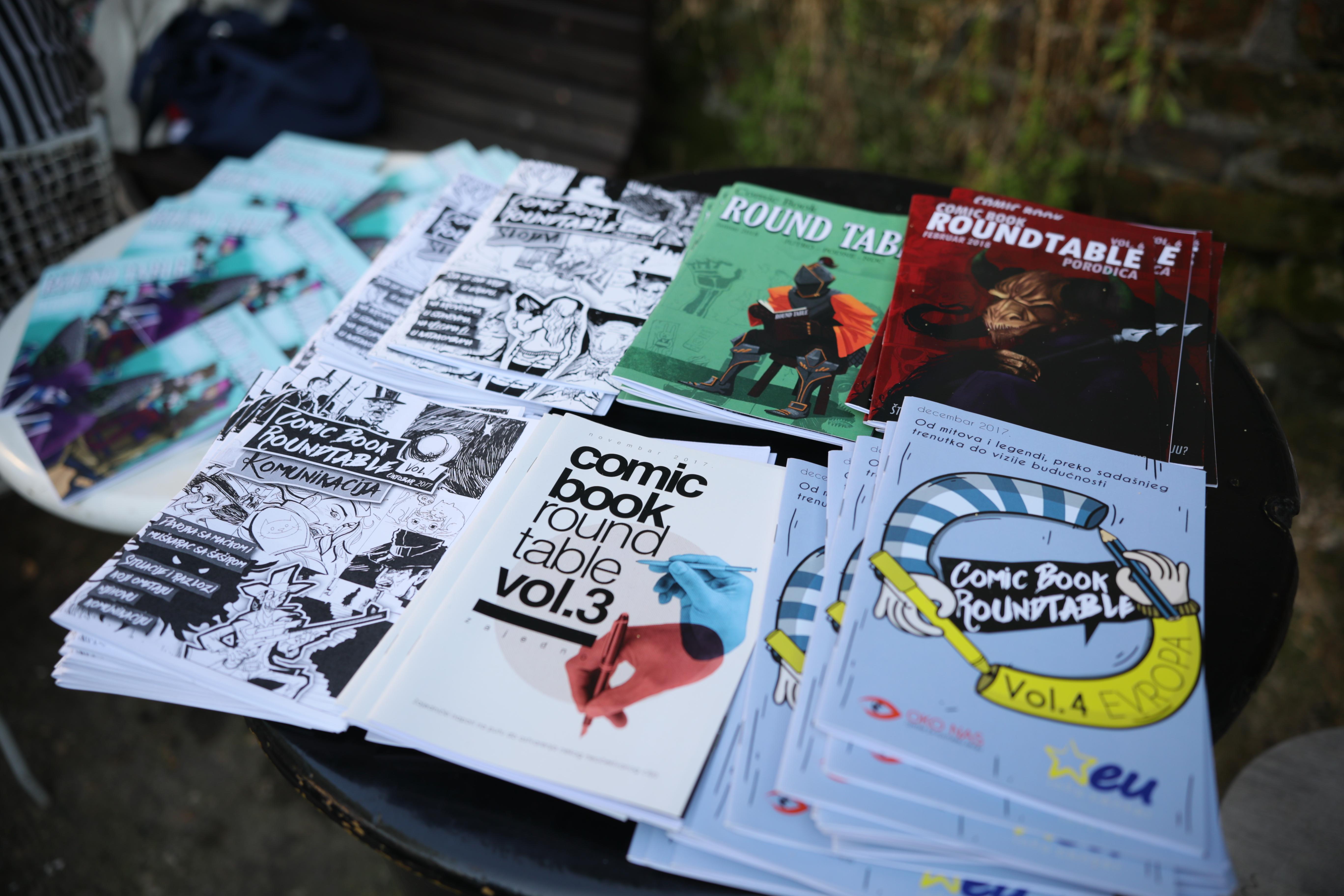 Od 1 do 8 juna u Uličnoj galeriji zajedničko crtanje stripova!