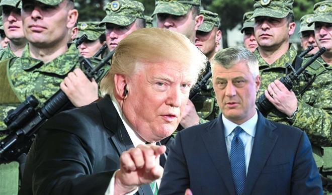 KOSOVO/ Tači lobistima platio pola miliona evra za susret sa Trampom