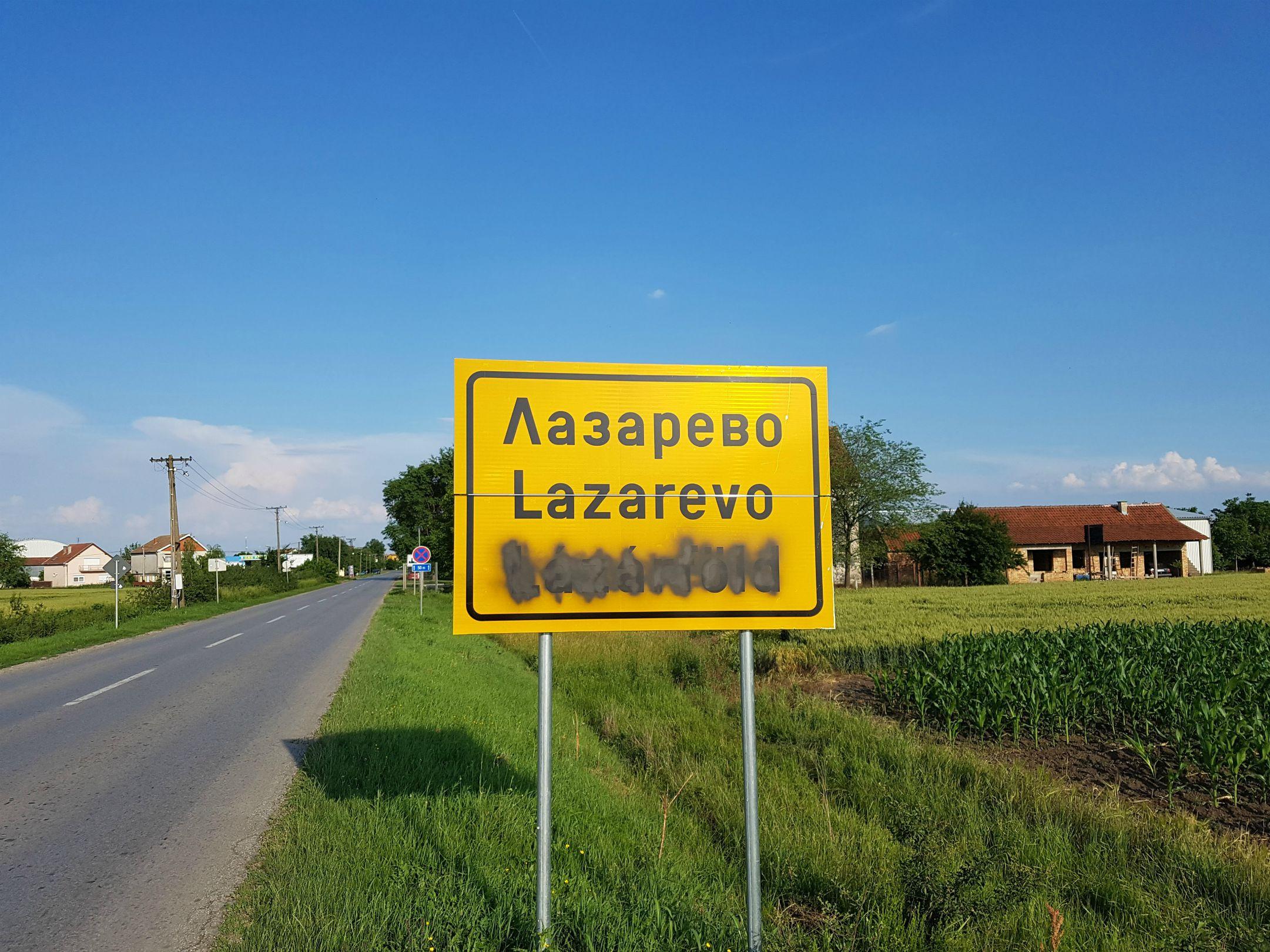 LSV/ Ko precrtava nazive mesta na jezicima nacionalnih zajednica!
