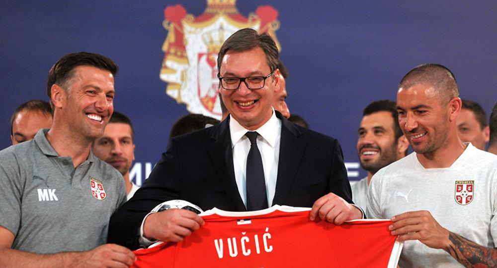 Vučić obećao – 10 miliona evra za prvo mesto u Rusiji!