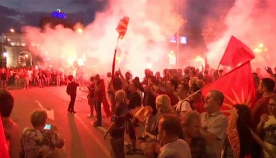 """MAKEDONIJA – GRČKA/ Veliki protesti protiv """"istorijskog potpisa"""""""